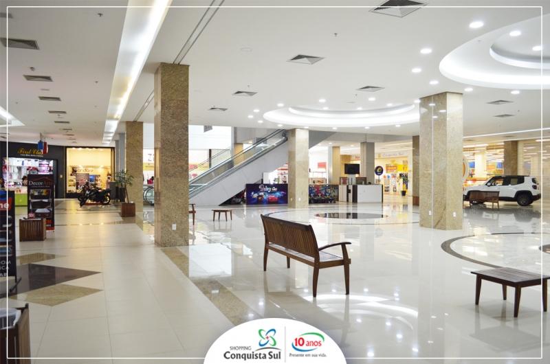02c18014f1a8b Shopping Conquista Sul inaugura mais uma Praça de Eventos!