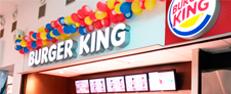 Inauguração do Burger King