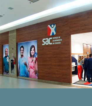 SAC Inaugura no Shopping Conquista Sul