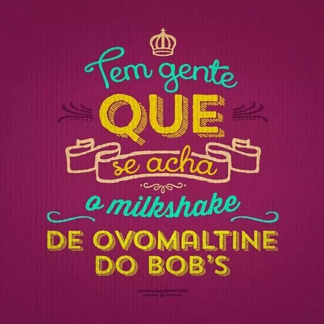 Conhece alguém assim? #milkshake #bobs #shoppingconquistasul