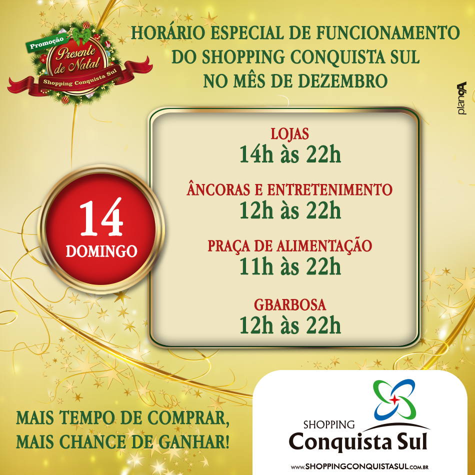 POST HORARIO NATAL -  DIA 14 - SCS - 950C950 - NOVEMBRO 2014