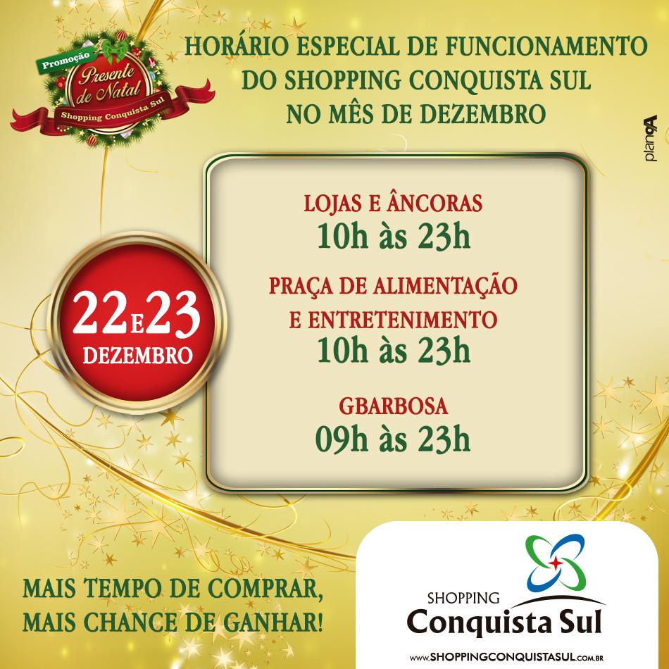 POST HORARIO NATAL -  DIA 22 - SCS - 950C950 - NOVEMBRO 2014