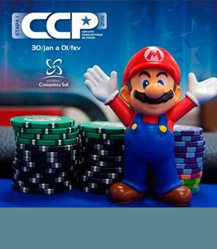 1ª Etapa do Circuito Conquistense de Poker