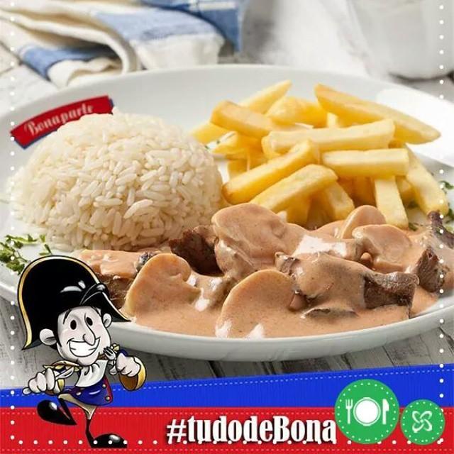 Consegue resistir a essa delícia? Vem pra cá! #almoco #bonaparte #shoppingconquistasul