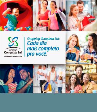 Shopping Conquista Sul: Cada dia mais completo