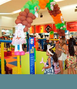 Páscoa no Shopping Conquista Sul