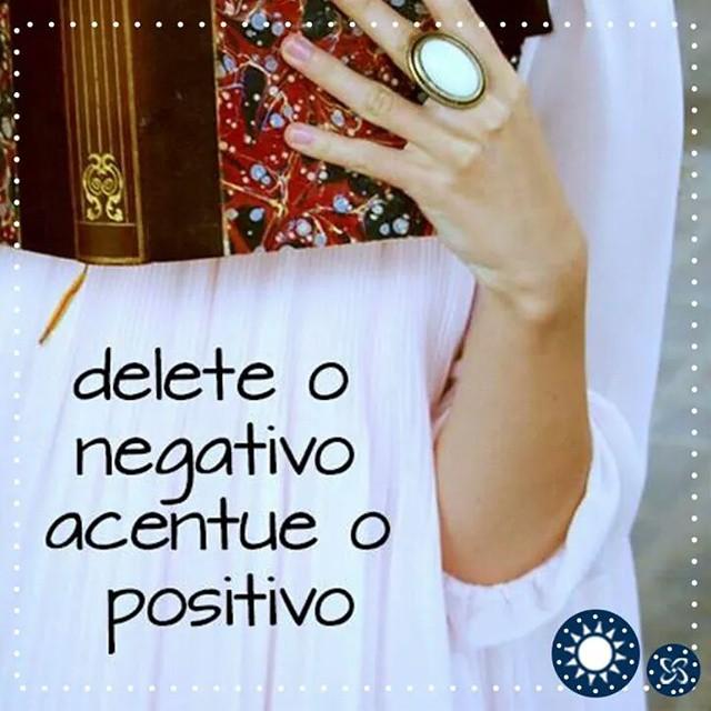 Vamos deletar o negativo nessa quarta-feira! #bomdia #quarta #shoppingconquistasul