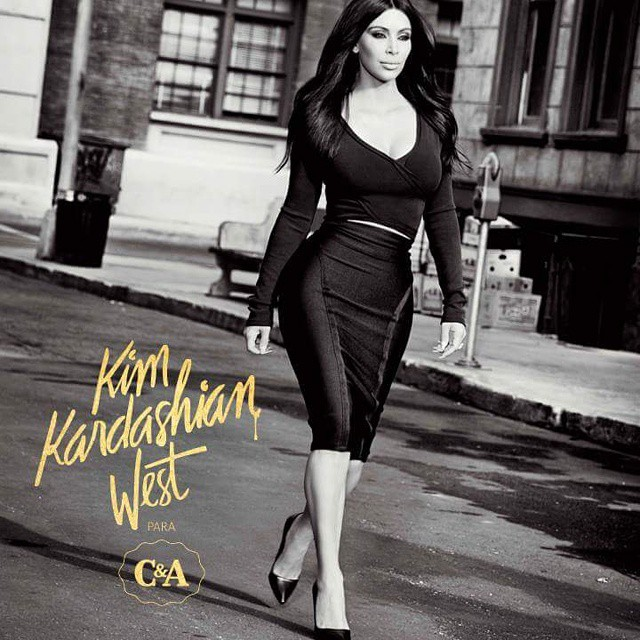 Nesta quinta-feira (21/05) na loja C&A do Shopping Conquista Sul, coleção Kim Kardashian West, exclusivo para a  C&A! Vem pra cá! #diadosnamorados #cea #shoppingconquistasul