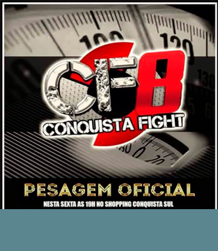 Pesagem Oficial do Conquista Fight