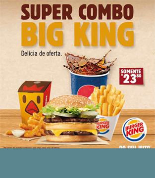 Super Combo Big King – Delícia de oferta!