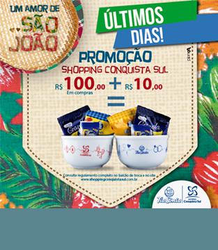 Regulamento da Promoção Shopping Conquista Sul
