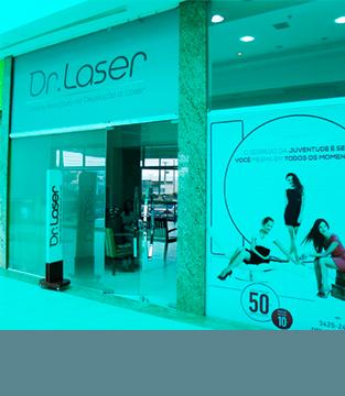 A Dr. Laser está funcionando em novo espaço!
