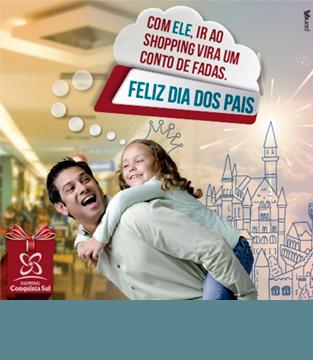 Dia dos Pais Shopping Conquista Sul