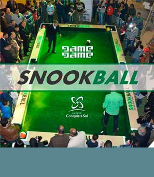 Venha conhecer o SnookBall e se divertir de montão!