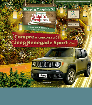 Promoção Natal de Aventuras Shopping Conquista Sul