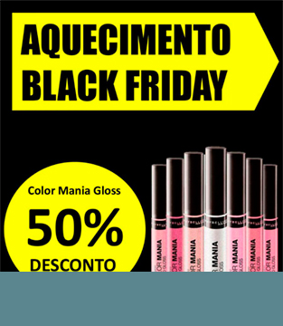 Aquecimento Black Friday Maybelline