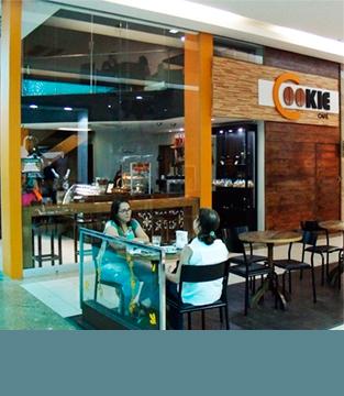 Inauguração da Cookie Café