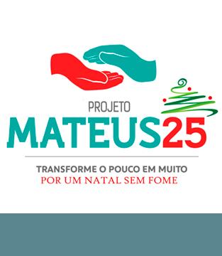 Projeto Mateus 25