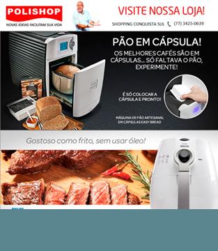 Lançamento Polishop: Máquina de Pães Easy Bread