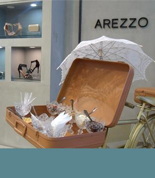 Dia da Mulher na Arezzo
