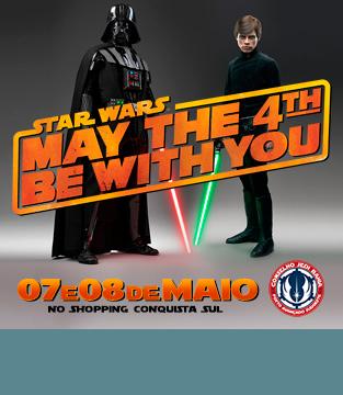 Dia de Star Wars no Conquista Sul