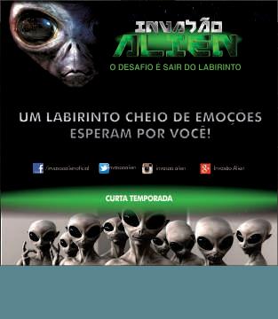 Invasão Alien no Shopping Conquista Sul