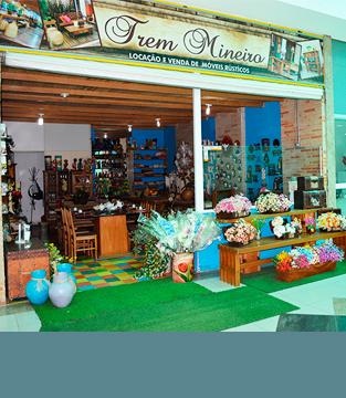 Conheça a loja Trem Mineiro