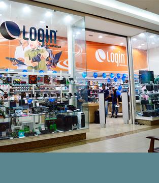 Inauguração da Login Informática