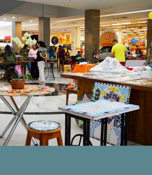 Feira de Artesanato no Shopping Conquista Sul