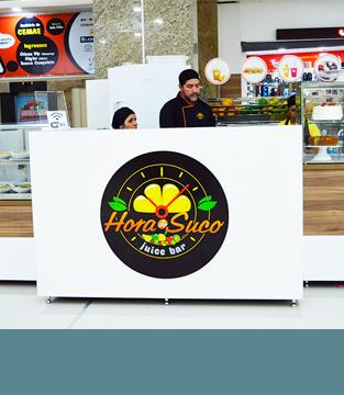 Inauguração da Hora do Suco