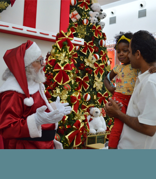 Natal no Shopping Conquista Sul