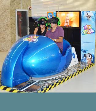 Rilix Coaster chega ao Shopping Conquista Sul!