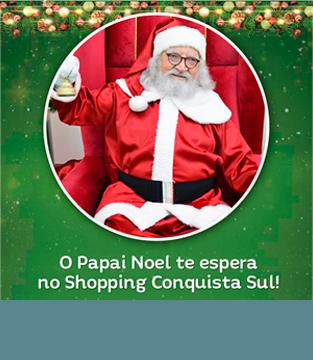 Horário do Papai Noel no dia 24/12