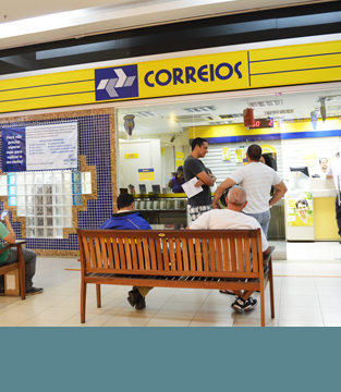 Correios opera normalmente no Shopping Conquista Sul
