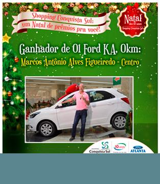 Ganhador de 01 Ford KA 0Km.