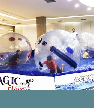 O Acqua Ball chegou no Conquista Sul!