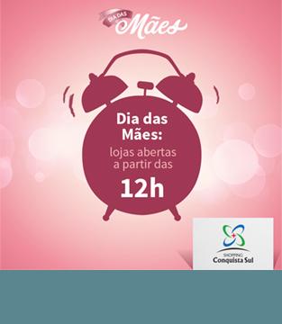 Horário no Dia das Mães