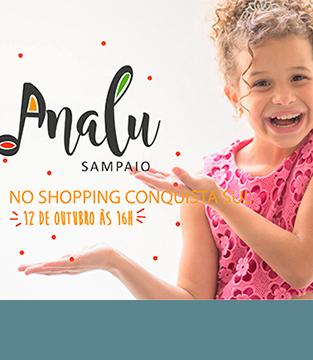 Analu Sampaio no Shopping Conquista Sul