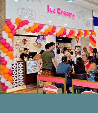 Inauguração da Ice Creamy