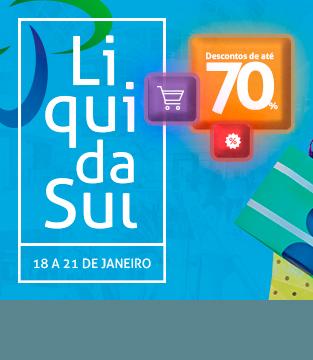 LiquidaSul – A  liquidação do Shopping Conquista Sul