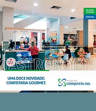 Inauguração da Confeitaria Gourmet