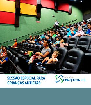 Sessão de Cinema em Comemoração ao Mês do Autismo