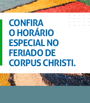 Horário Especial Corpus Christi