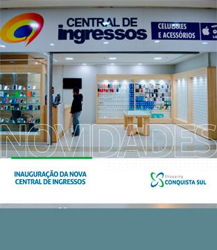 Inauguração da Central de Ingressos