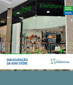 Inauguração Kiwi Store