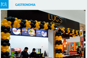 Lug's: a novidade da nossa praça de alimentação