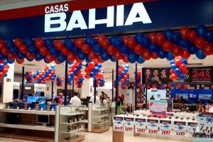 Inauguração na nova Casas Bahia