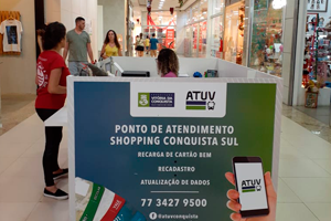 ATUV NO SHOPPING CONQUISTA SUL