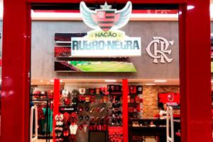 Loja oficial do Flamengo no Conquista Sul