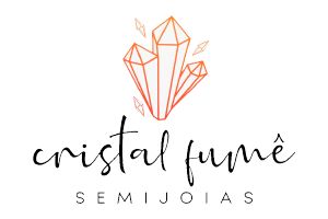 Cristal Fumê – Semi jóias
